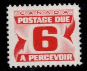 Canada Scott J26 MH* Postage Due