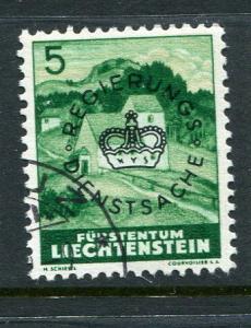 Liechtenstein #O21 Used Accepting Best Offer