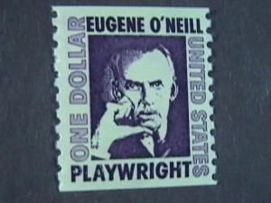 U.S.# 1305C-MINT/NH- COIL-SINGLE--EUGENE O'NEILL/PLAYWRIGHT1973