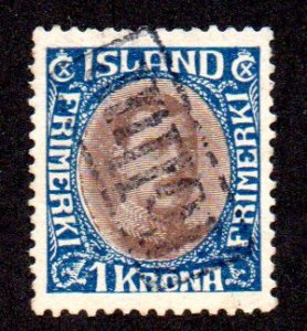ICELAND 185 USED SCV $7.50 BIN $3.00 ROYALTY