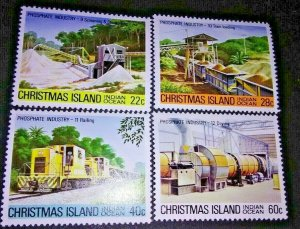 1 DAY 50% OFF SALE! Christmas Island Phosphate Industry 1981 #103-6 M(Was 3.92)