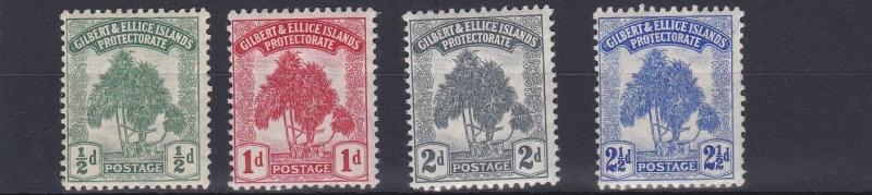 GILBERT & ELLICE 1911  S G 8 - 11   SET OF 4  LMH