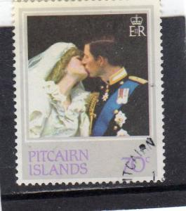 Pitcairn Islands 1981 Royal Wedding CTO