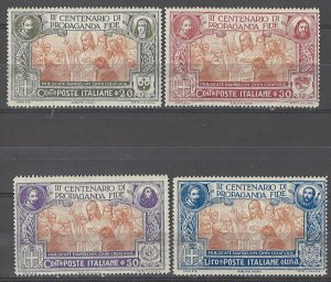 COLLECTION LOT # 4967 ITALY #143-6 MH 1923 CV+$23