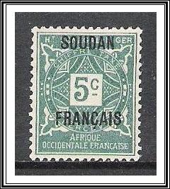 French Sudan #J1 Postage Due NG