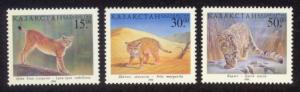 Kazakhstan Sc# 243-5 MNH Wild Cats