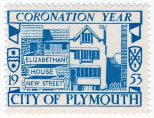 (I.B) Cinderella Collection : Plymouth Coronation Year (New Street)