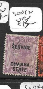 INDIA  CHAMBA (PP3108B) QV  SERVICE SG012  8A  VFU