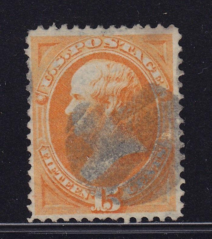 152 VF used well centered neat bold cancel with nice color cv $ 220 ! see pic !