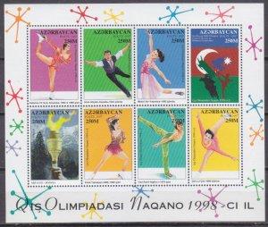 1998 Azerbaijan 406-13KL 1998 Olympic Games in Nagano