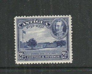 Antigua 1932 Tercentenary 2 1/2d MM SG 85
