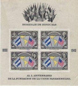 Honduras C153 perf USED  SCV $4.00 BIN $1.60 FLAGS