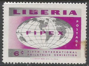 LIBERIA 357 MOG STAIN Q638