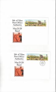 Isle of Man TEMBAL 83, Basel   Exhibition Card  Mint & Posted