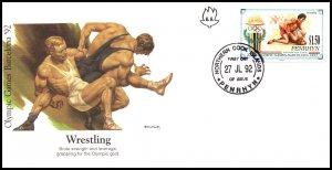 Penrhyn Island 404 Summer Olympics Fleetwood U/A FDC