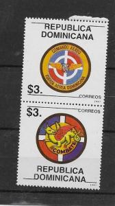 DOMINICAN REPUBLIC STAMP MNH #ABRIL5
