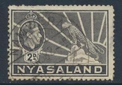Nyasaland SG 133  SC# 57   Used   see details