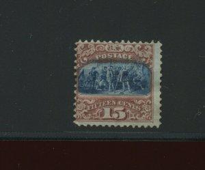 119 Landing Columbus Unused Grill Stamp (Stock 119-A1)