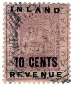 (I.B) British Guiana Revenue : Inland Revenue 10c