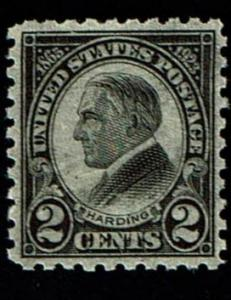Scott #612 VF/XF-OG-NH. SCV - $32.50