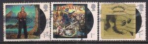 GB 2019 QE2 1st x 3 Elton John Album Covers SG 4253/55/56 ( J1435 )