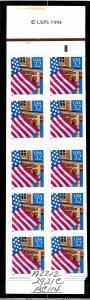 BK228A Mint,OG,NH... Booklet (3x2921c)... SCV $50.00