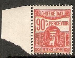 Tunisia 1928 Scott J23 Postage Due MNH