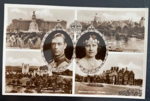 1937 Windsor Canada Picture Postcard Cover To USA King George VI Coronation