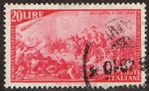Italy # 503 Used