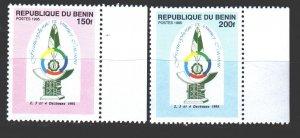 Benin. 1995. 716-17. 6th Francophonie Summit. MNH.