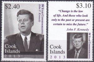 Cook Islands #1476-7  MNH   CV $9.00 (Z4311)