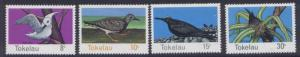 Tokelau 57-60 MNH Birds