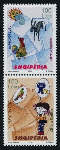 Albania 2894 MNH EUROPA, Children's Stories, Animals, Birds