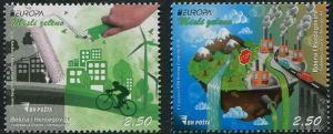 HERRICKSTAMP NEW ISSUES BOSNIA & HERZEGOVINA Sc.# 759-60 EUROPA 2016 Think Green