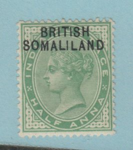 SOMALILAND PROTECTORATE 1  MINT HINGED OG * NO FAULTS VERY FINE!