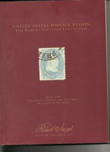 Robert Zoellner Auction Catalog by Siegel Auctions 1998 VF!!
