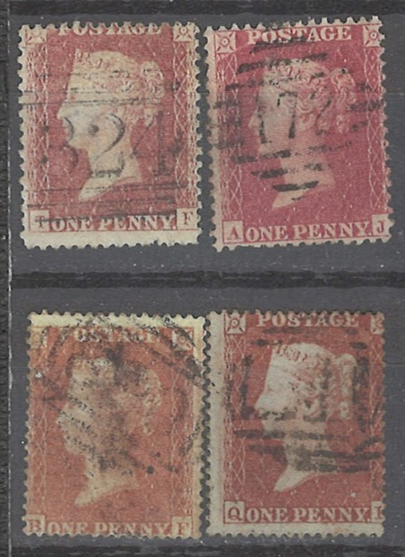 COLLECTION LOT # 2438 GREAT BRITAIN #33*4 1864 CV+$11