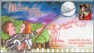 18-346, 2018, Its a Wonderful Life, Pictorial Postmark, Event Cover, Seneca Fall