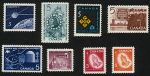 Canada - #445-452 Stamp Lot from 1966 - MNH * PO Fresh
