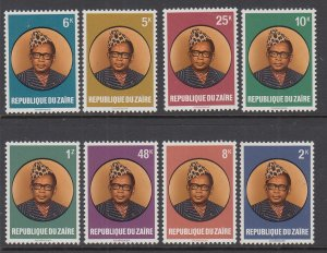 Zaire 883-890 MNH VF