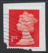 GB - 1st Vermillion Security Machin Used  - No Source / Date Code 16  see det...