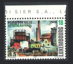 Luxembourg Centenary 1999 of Esch-sur-Alzette Gas Works 1v Top Margin SG#1535