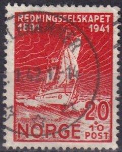 Norway #B22  F-VF Used   (V4842)