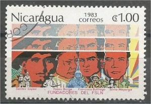 NICARAGUA, 1983, CTO 1cor, Paintings Scott 1264