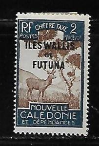 Wallis and Futuna Islands J11 Postage Dues single MLH