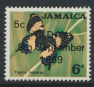 Jamaica SG 284 MNH  SC# 283  Decimal Currency OPT see details