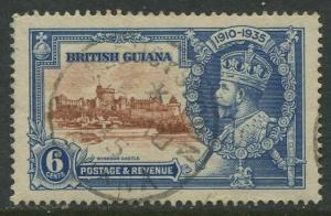 British Guiana #224 Used  Scott CV. $5.50