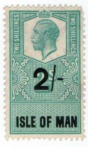 (I.B) George V Revenue : Isle of Man 2/-