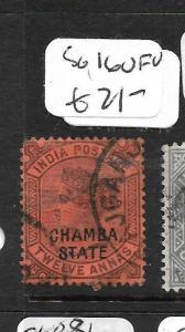 INDIA  CHAMBA (PP3108B) QV  SG16  12A     VFU