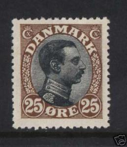 Denmark #107 Mint